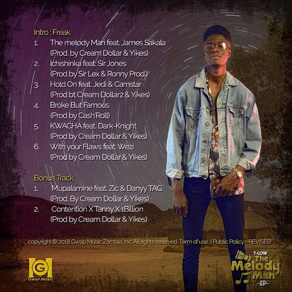 """T Low's Forthcoming EP """"The Melody Man"""" Tracklist"""